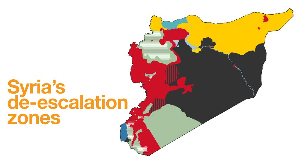 Syria's 'de-escalation zones' explained
