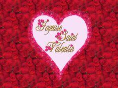 Fonds d'�cran St Valentin  amour, coeurs, anges et fleurs