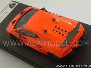 LOOKSMART  Lamborghini Sesto Elemento (Orange Fluo) (1/43 scale model)