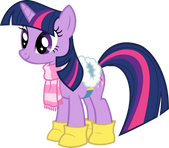 My little pony Plaatje  Twilight sparkle winter schoonmaak