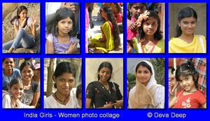 India Girls and Women