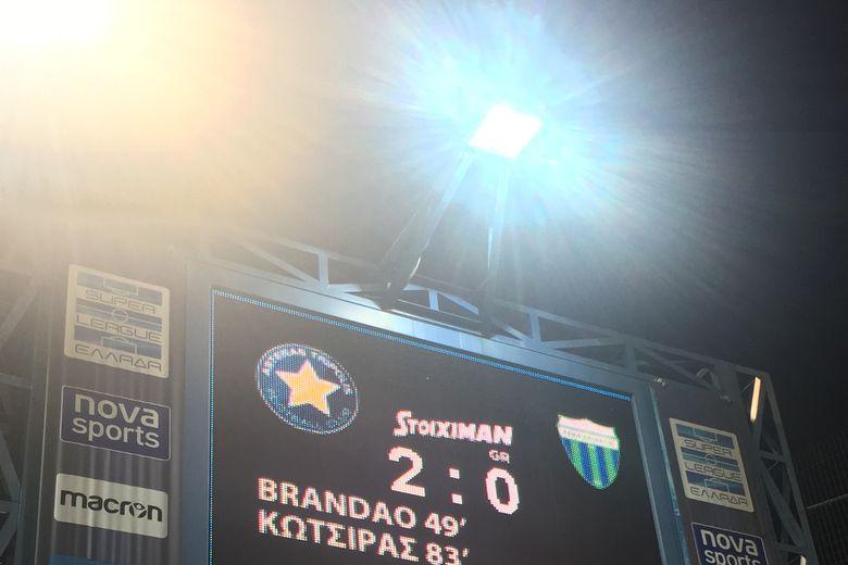 ΦΙΛΙΚΟ: ΑΣΤΕΡΑΣ-Λεβαδειακός 2-0