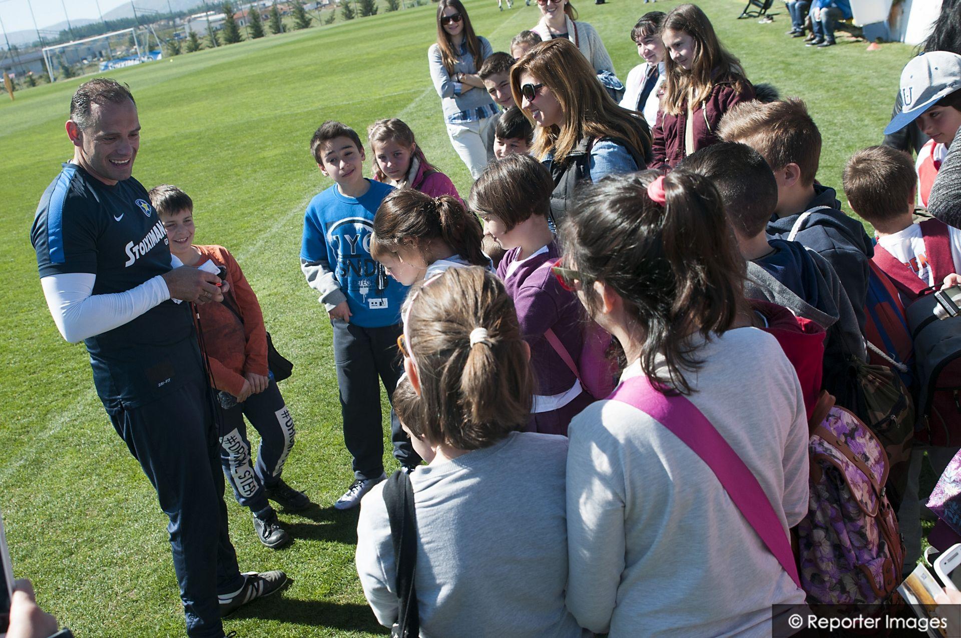 """Μαθητές από την Κοντοβάζαινα στο """"Θεόδωρος Κολοκοτρώνης""""! (video, photos)"""