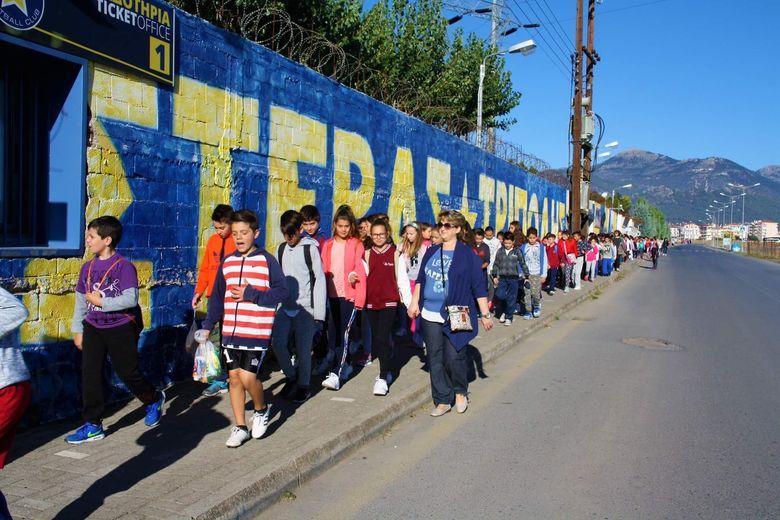"""Το 7ο Δημοτικό Τρίπολης στο """"Θεόδωρος Κολοκοτρώνης"""""""