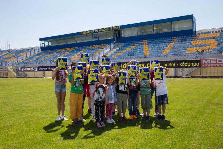"""Μαθητές από την Λακωνία στο """"Θεόδωρος Κολοκοτρώνης""""!"""