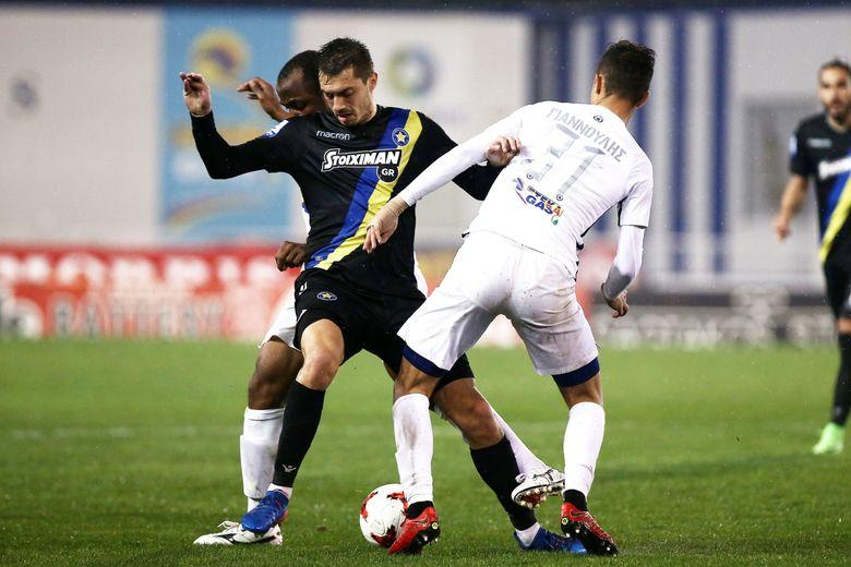 Ατρόμητος-ΑΣΤΕΡΑΣ 1-0: Είχε τις ευκαιρίες, όχι το γκολ