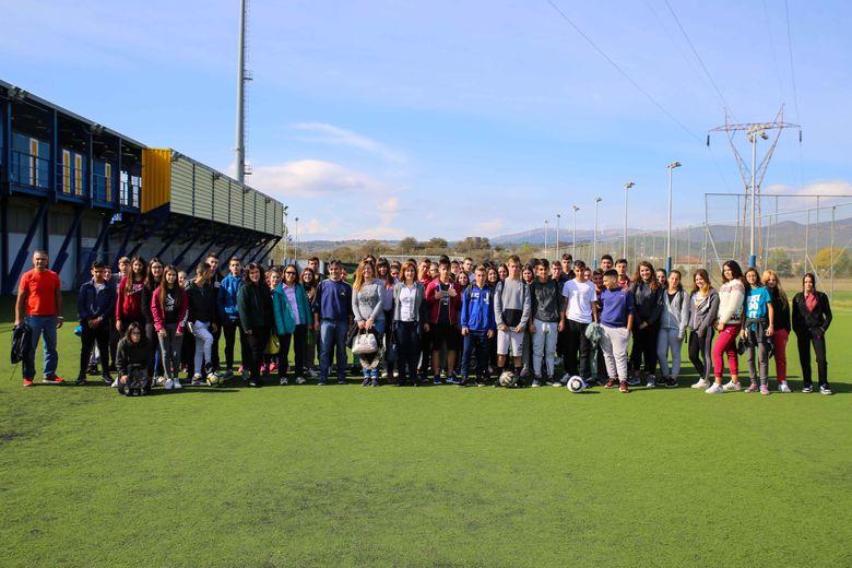 """Ο ΑΣΤΕΡΑΣ """"αγκάλιασε"""" τους μαθητές του 2ου Γυμνασίου Τρίπολης (video & photos)"""