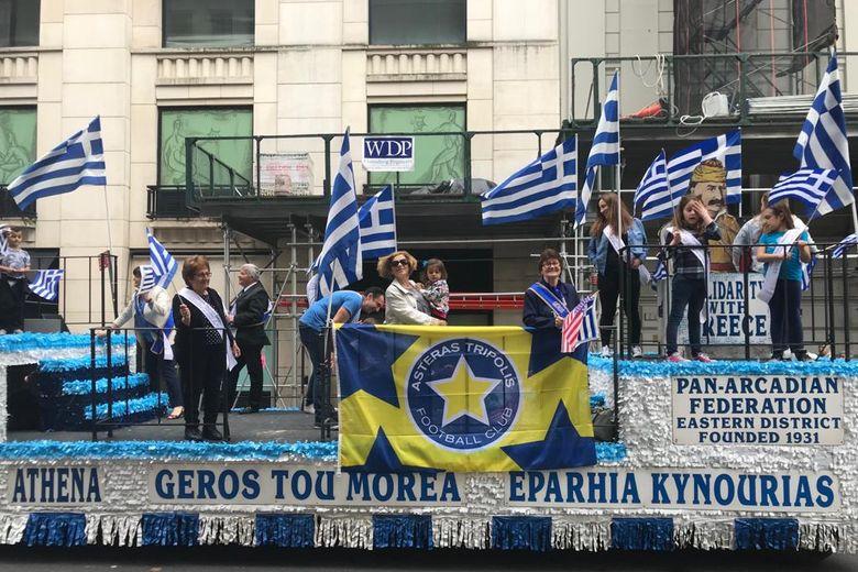 Ο ΑΣΤΕΡΑΣ στην παρέλαση του Ελληνισμού στην Νέα Υόρκη (photos)