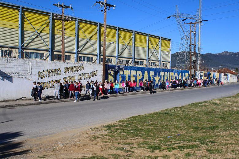 Ο ΑΣΤΕΡΑΣ υποδέχθηκε το 10ο Δημοτικό Σχολείο Τρίπολης (video & photos)