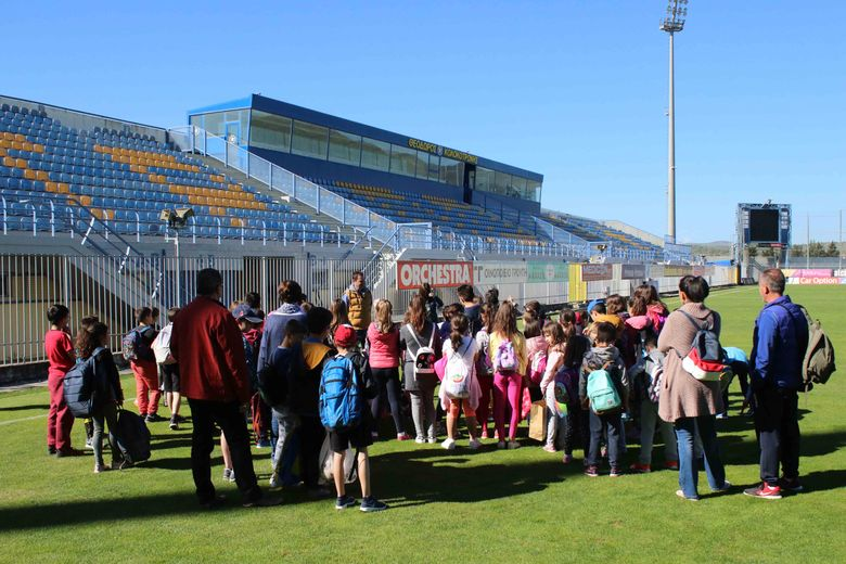 """Το 5ο Δημοτικό Σχολείο Τρίπολης στο """"Θεόδωρος Κολοκοτρώνης"""" (photos)"""