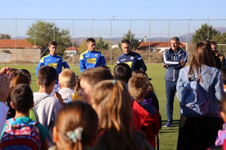 Το 7ο Δημοτικό Σχολείο Τρίπολης στις εγκαταστάσεις του ΑΣΤΕΡΑ (video & photos)