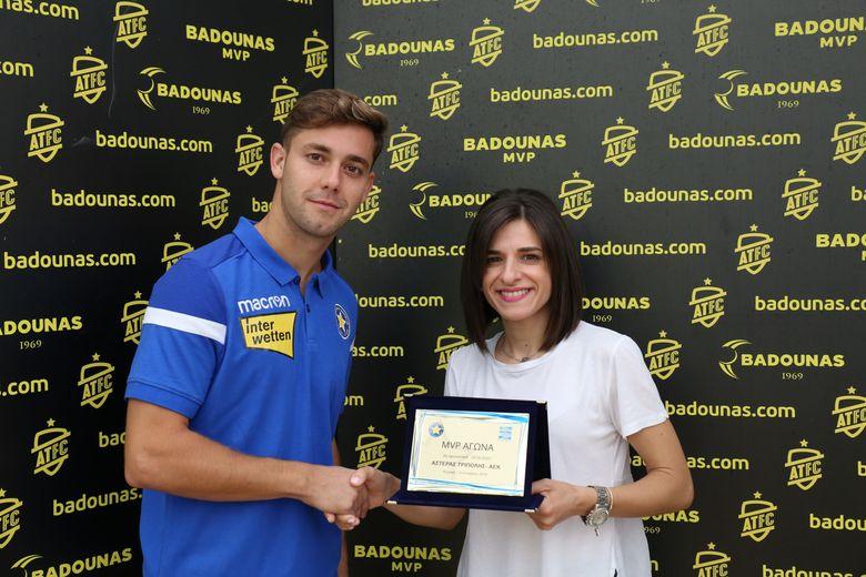 BADOUNAS MVP Of The Week: Η βράβευση του Adrian Riera (video & photos)