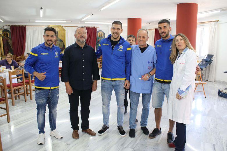"""ΑΣΤΕΡΑΣ: Προσφορά ζωής και στήριξη στον σύλλογο """"Άξιον Εστί"""" (video & photos)"""