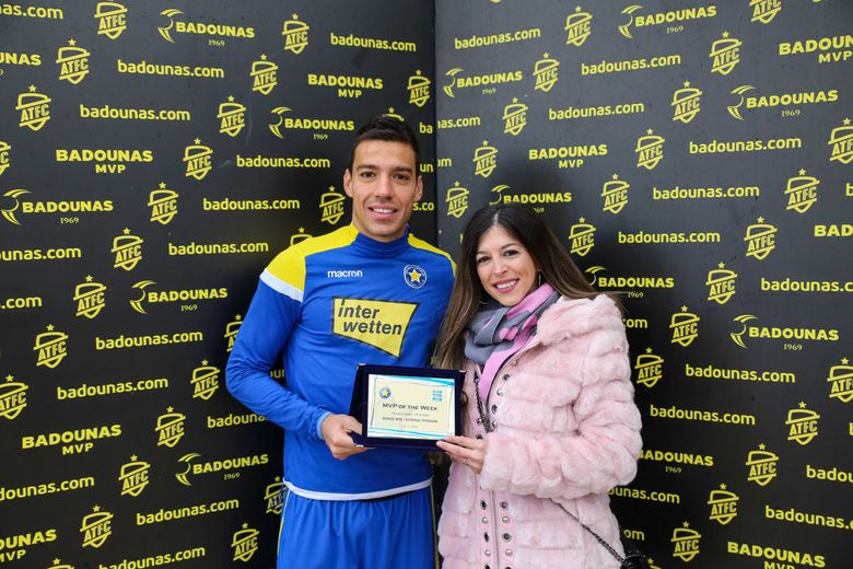 BADOUNAS MVP Of The Week: Βράβευση του Milos Deletic (video & photos)