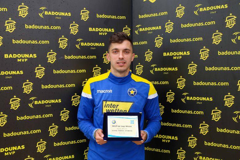 BADOUNAS MVP Of The Week: Η βράβευση του Γιάννη Κώτσιρα (video & photos)