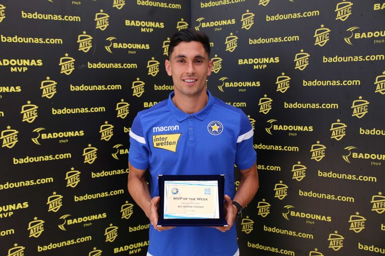 BADOUNAS MVP Of The Week: Η βράβευση του Jose Luis Valiente (video & photos)