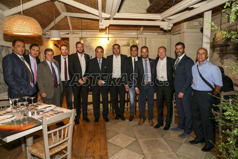 ΑΣΤΕΡΑΣ-Sparta: Το επίσημο δείπνο (photos)