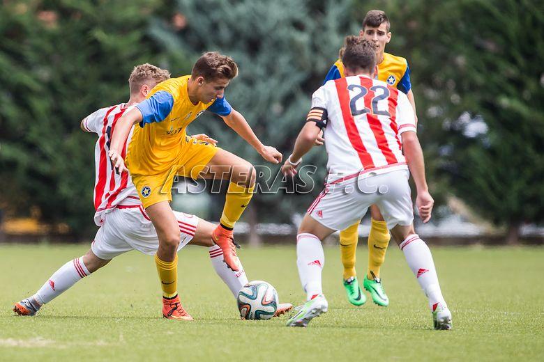 Κ17: ΑΣΤΕΡΑΣ-Ολυμπιακός 0-1 (video+photos)