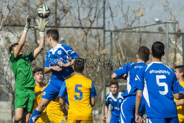 Κ15: Ατρόμητος-ΑΣΤΕΡΑΣ 1-0 (photos)