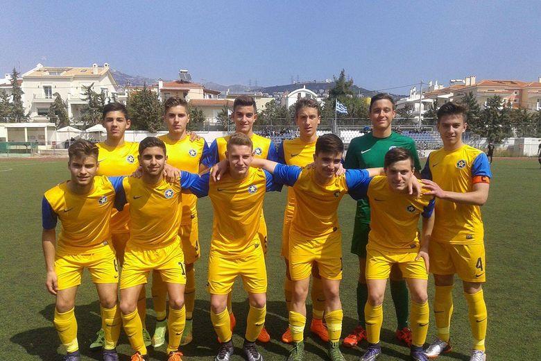 Κ15: ΑΕΚ-ΑΣΤΕΡΑΣ 0-1
