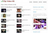 clip video hd 5 sites pour trouver des clips vid�o HD