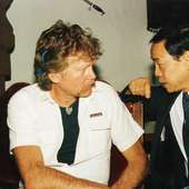 Jhoon Rhee (r.) And Jim Harrison