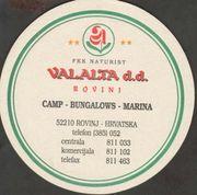 Beer Valalta Brewery Pivnica Valalta City Rovinj Coaster number 11