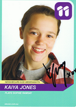 com  The Home of Celebrity & Sporting Memorabilia :: Kaiya Jones