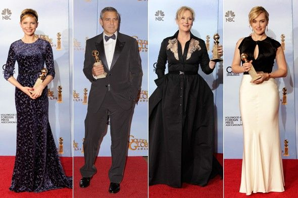 Golden Globes 2012 Winners