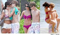 It was a weekend packed with PDA for Justin Bieber and his girlfriend