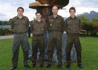 Mairitsch, Fenninger, Oberstabswachtmeister Klochan, Druml.