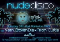 Nude Disco with Reflekt live at Electric Social: Classic & Nu Disco