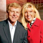 Donatos CEO James Grote and his daughter, COO Jane Grote Abell, in the