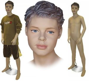 12 Year Old Teenage Boy Mannequin #27