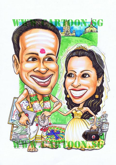Singapore Indian Couple