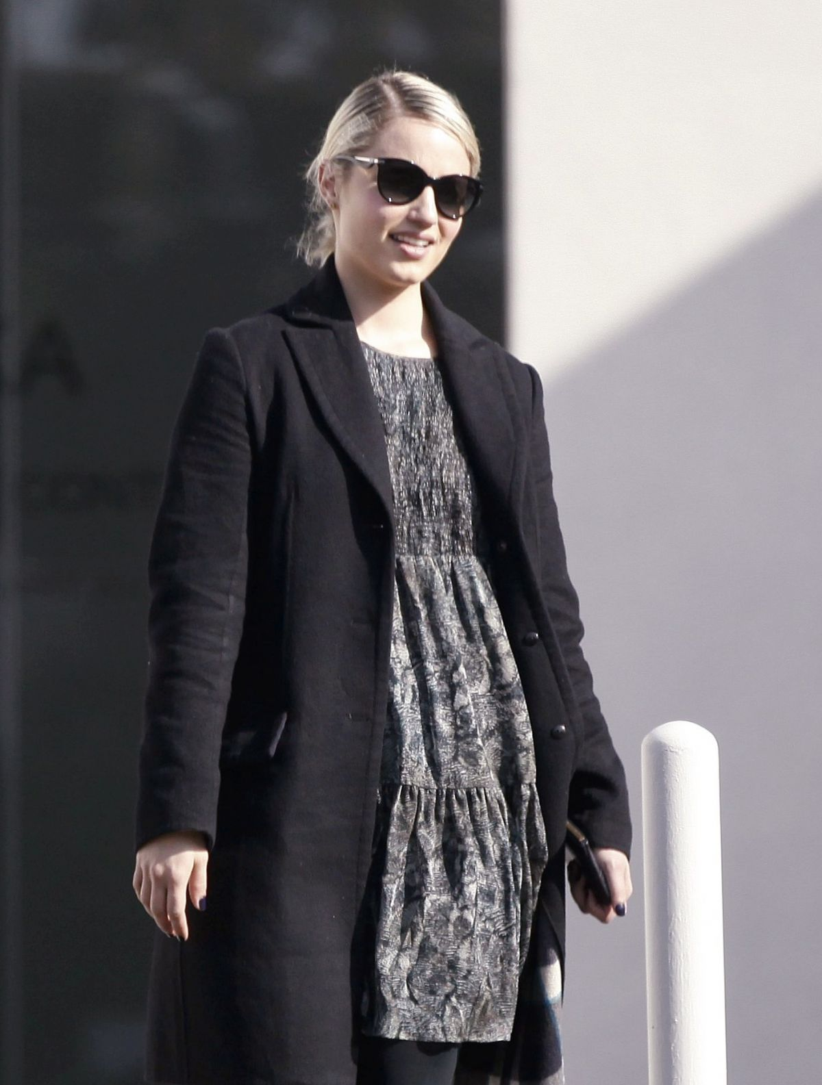 Dianna Agron Street Style U2013 Visiting The Kohn Gallery In Los Angeles