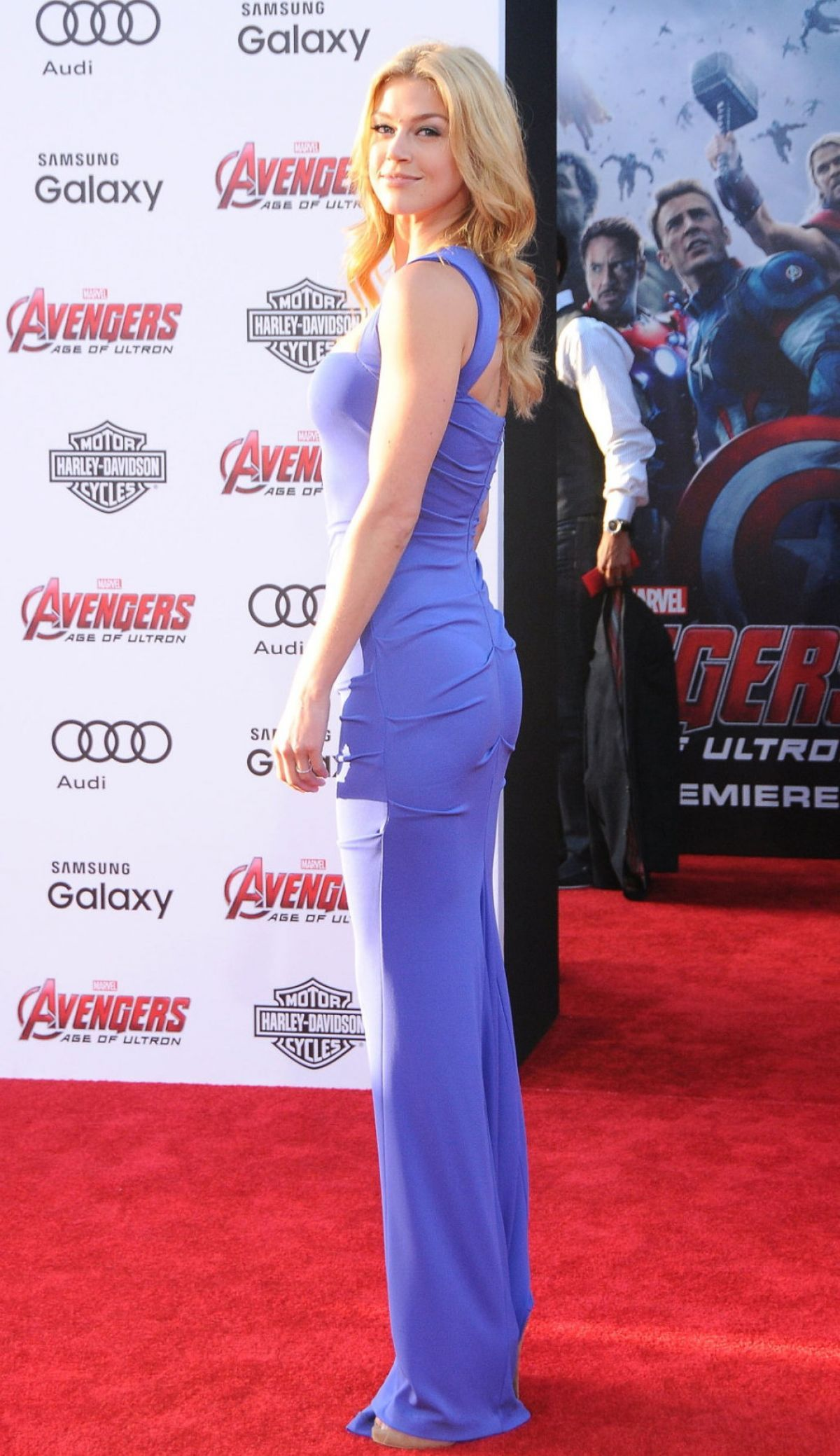Adrianne Palicki At Avengers Age Of Ultron Los Angeles Premiere