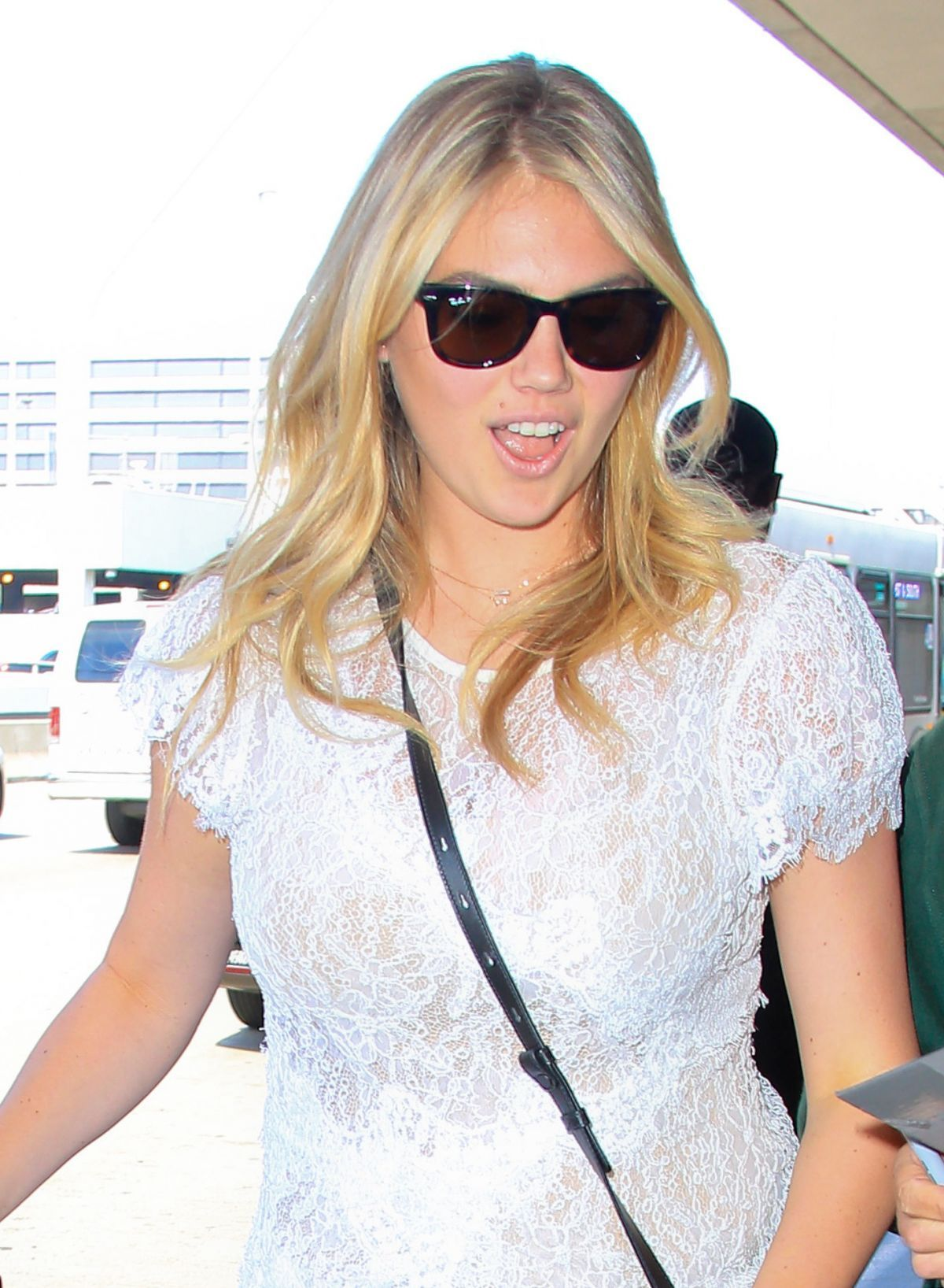 Kate Upton At Lax Airport