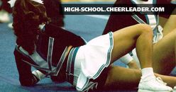 Candid pictures of High School Cheerleaders from around the country