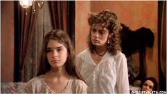 very, very young Brooke Shields in pretty baby – IN the Brothel