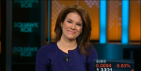 new hire kelly evans wows em in cnbc debut