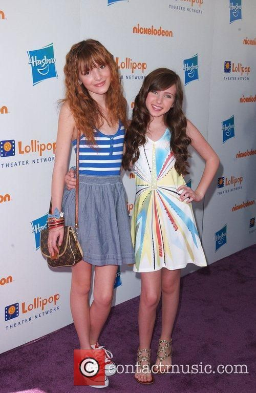 Ryan Newman And Bella Thorne