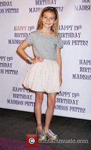 Hannelius Madison Pettis's 13th birthday party at Eden - Arrivals