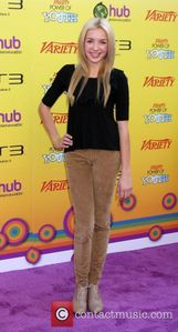 Peyton List Variety's 5th Annual Power of Youth Event held at