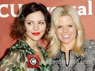 Katharine Mcphee And Megan Hilty 2013 Nbc Winter Tca Tour In Pasadena