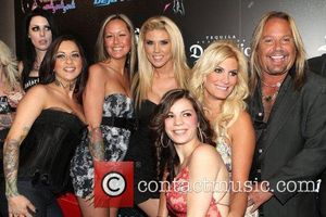 Vince Neil and Rain Andreani with guests Vince Neil's Girls, Girls