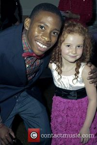 Carlon Jeffery and Francesca Capaldi The 33rd Young Artist Awards at