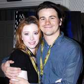 Fiona Glascott,and Jason Ritter The Cast Of 'The Deal' Attend The
