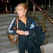 Tionne Watkins Aka T-boz From Tlc Leaving Her Manhattan Hotel New York 31
