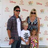 Dan Cortese And DeeDee Cortese With Their Children Elizabeth Glaser